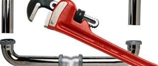 rode tang en leidingwerk